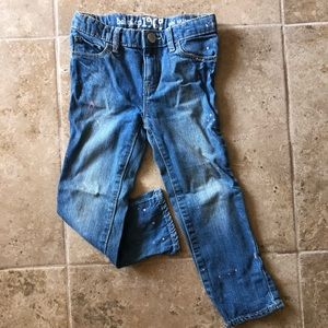GAP Paint Splatter Jeans